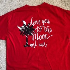 Love You To The Moon And Back T-Shirt Size L